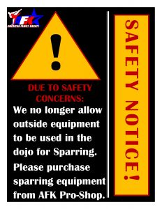 SafetySparringGear