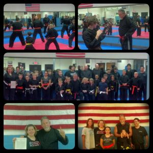 Master Jeff Bonugli visited us from Texas at American Family Karate
