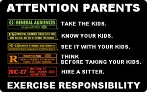 Attention Parents - Exercise Responsibility