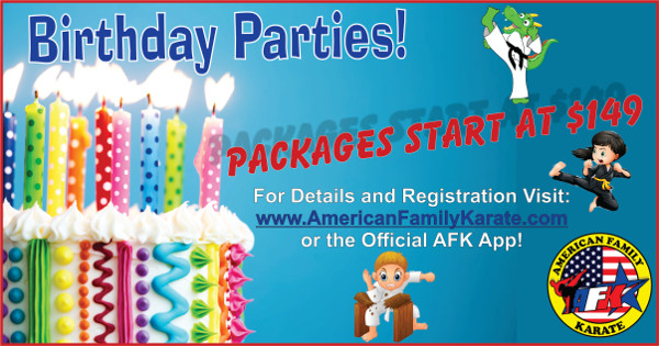 Kickin' Birthday Parties at AFK. Perfect for families on the go looking for something new and different.